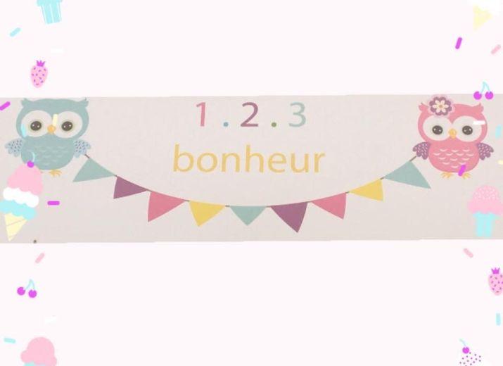 MAM 1,2,3, Bonheur