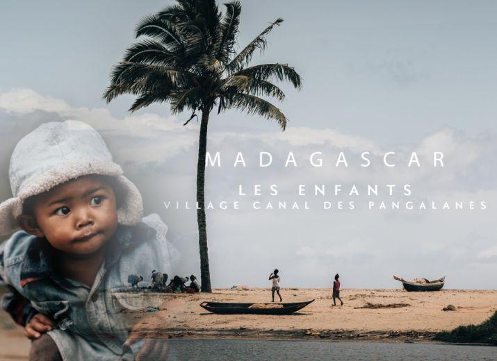 Madagascar - Village canal des Pangalanes