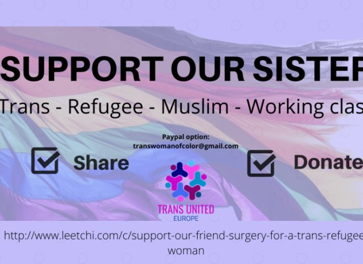 Support our friend - Surgery for a trans refugee woman