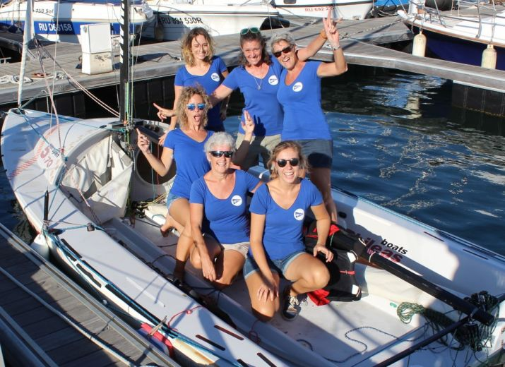 LES SAILFILLES A LA WOMEN'S CUP