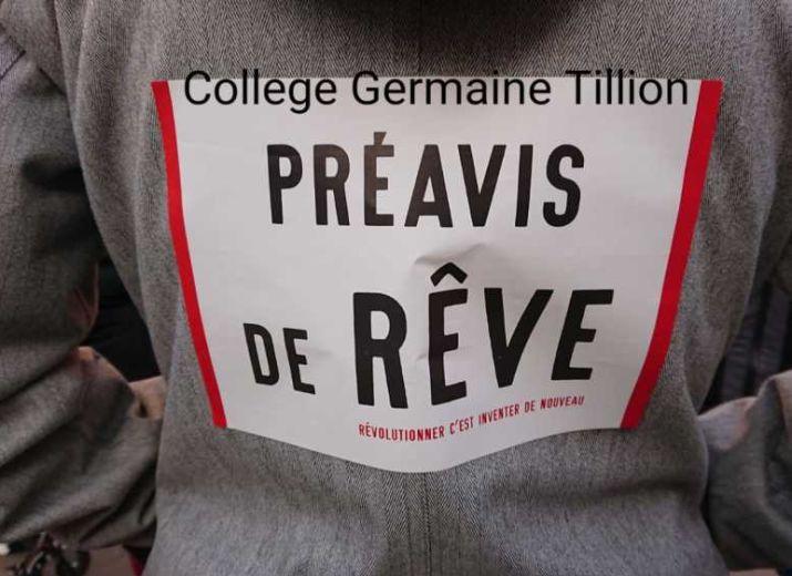 Caisse de grève collège Germaine Tillion