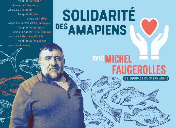 Naufrage: Soutien à Michel Faugerolles et l'équipage du STEPH ANNIE