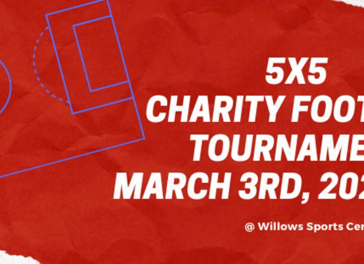 Willows 5x5 Children First Derby Football Tournament TEAM REGISTRATION