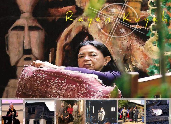 """Un """"nouveau nid"""" pour la poétesse et combattante mapuche Rayen Kvyeh"""