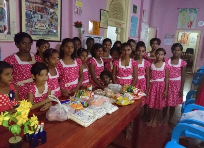 Collecte de dons pour les orphelins au Sri-Lanka