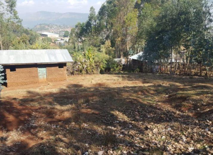 Acquisition petite maison en Ethiopie pour la mère de notre fils adoptif