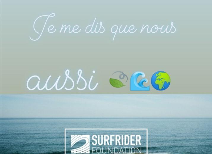 Surf rider, pour la protection de nos océans