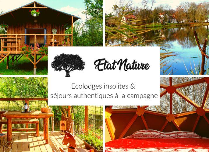 Financement participatif Etat Nature - écolodges et séjours insolites