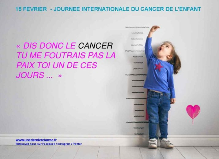 Journée internationale du cancer de l'enfant le 15 février