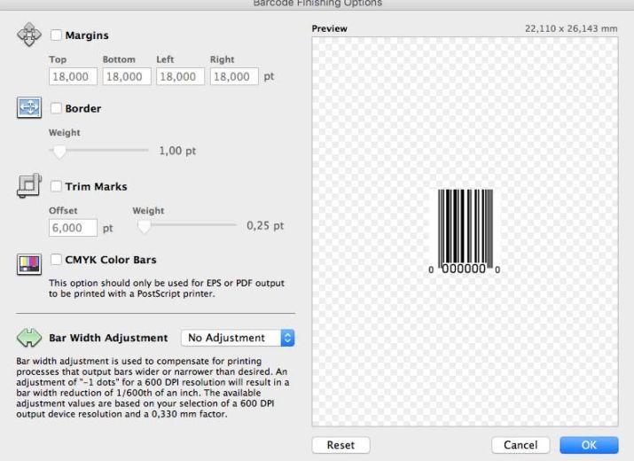 Barcode Producer 6.5.2 Mac