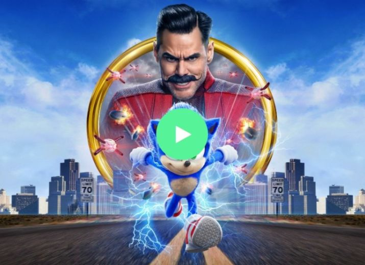 Image result for Watch Sonic The Hedgehog image