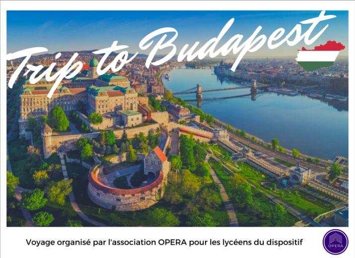 Voyage Budapest OPERA