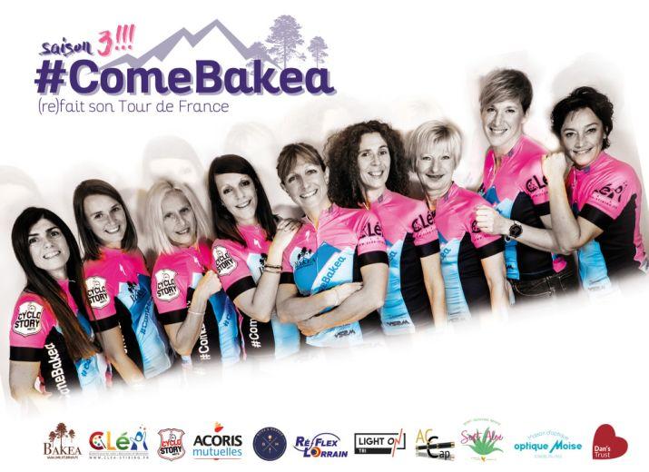 #ComeBakea - Un tour de France cycliste au féminin !