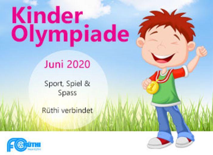 Kinder Olympiade - Sport, Spiel & Spass