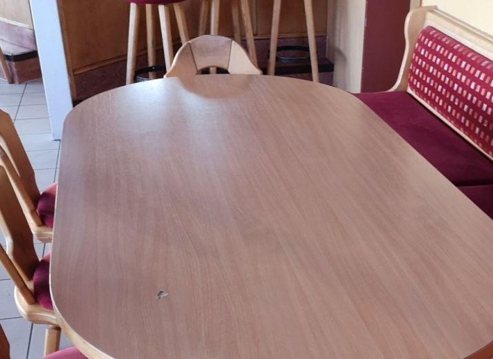 Möbel für das Sportheim des SV Oberteuringens