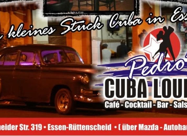 Bitte helft! Erhaltet Pedros Cuba Lounge!
