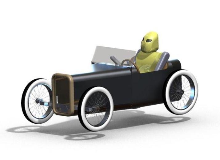 Finanzierung eines simplen open source pedalelektrischen wagens, der mit günstigen teilen zuhause gebaut werden kann