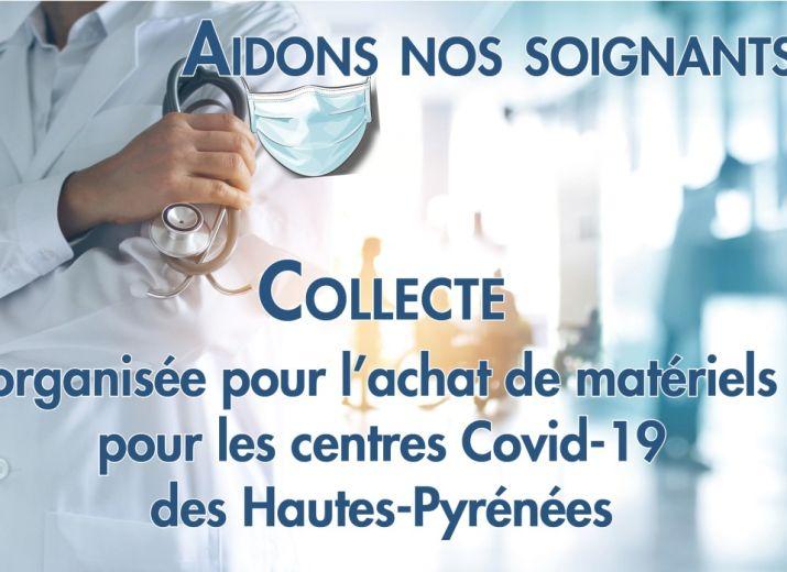 Covid 65 aidons nos soignants