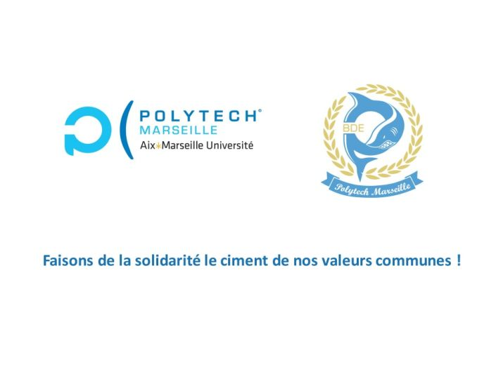 Fond solidaire Polytech-Marseille