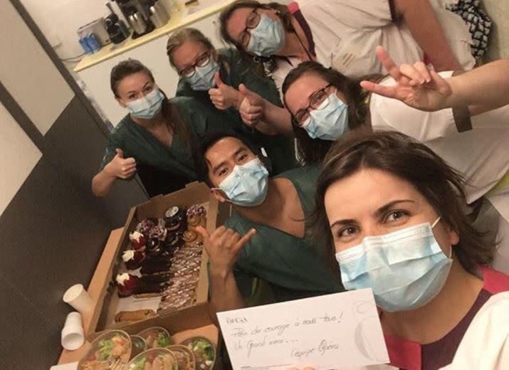 Opéra Solidaires : de la viennoiseries et des repas pour les soignants   #COVID-19