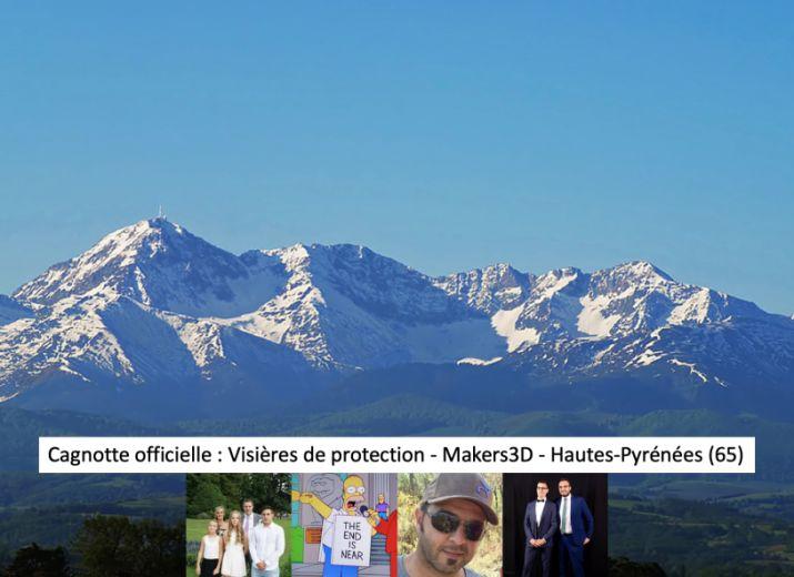 Visières de protection - Makers3D - Hautes-Pyrénées (65)
