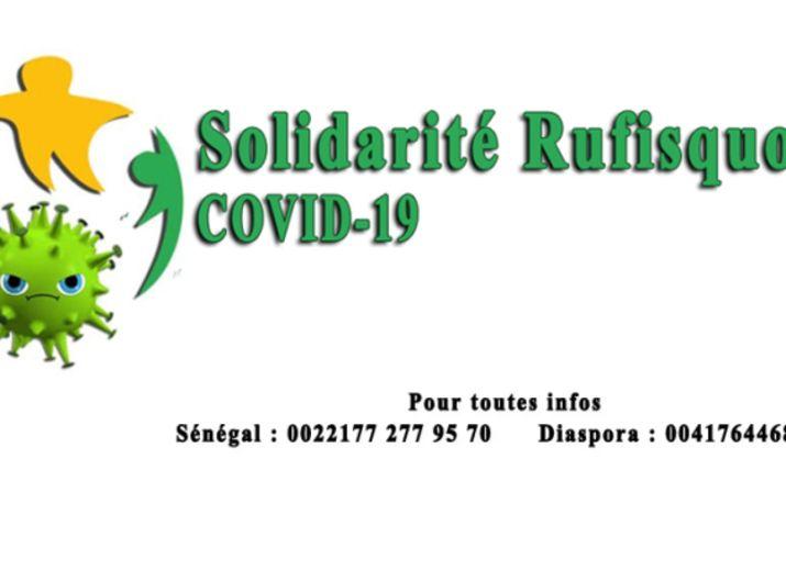 Fonds de Solidarité Diaspora Rufisquoise Covid-19