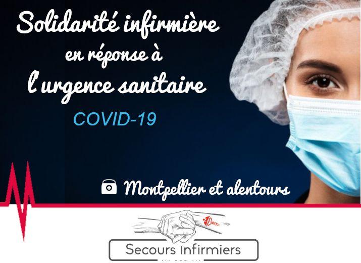 COVID-19 : Secours Infirmiers - Montpellier et alentours