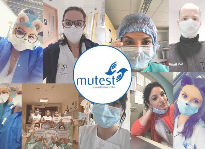 Tous ensemble avec les hospitaliers - Mutest