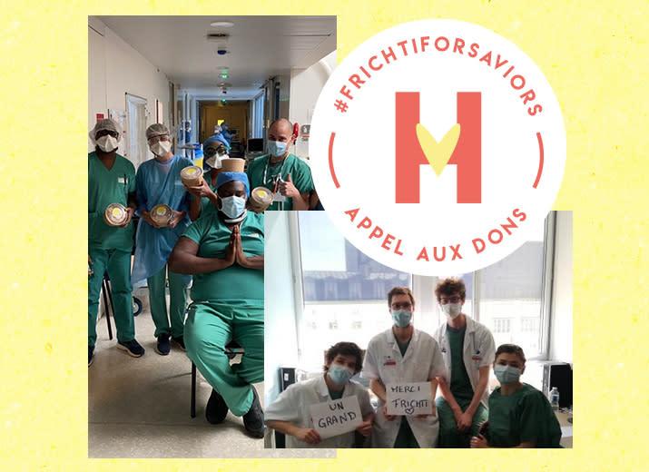 #FrichtiForSaviors — Aidez-nous à nourrir les hôpitaux