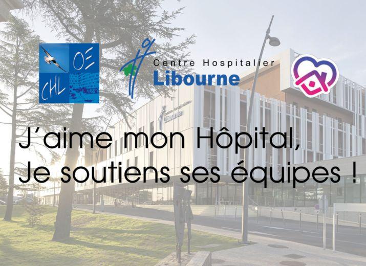 Je soutiens le CH de Libourne