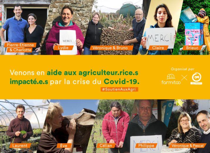 Soutien aux exploitant.e.s agricoles impacté.e.s par le covid-19