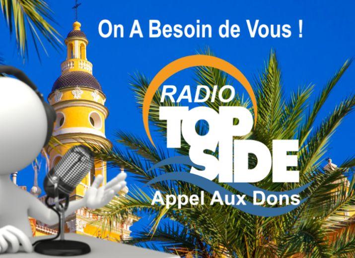 Radio Top Side A BESOIN DE VOUS!