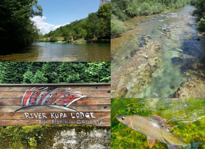 River Kupa lodge-Cagnottes solidaires