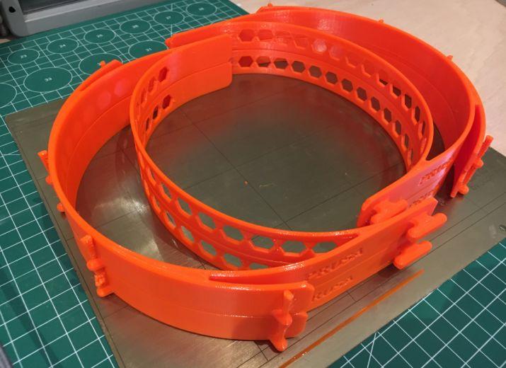 COVID 19 - Filament 3D pour visières destinées aux soignants de l'AP-HP
