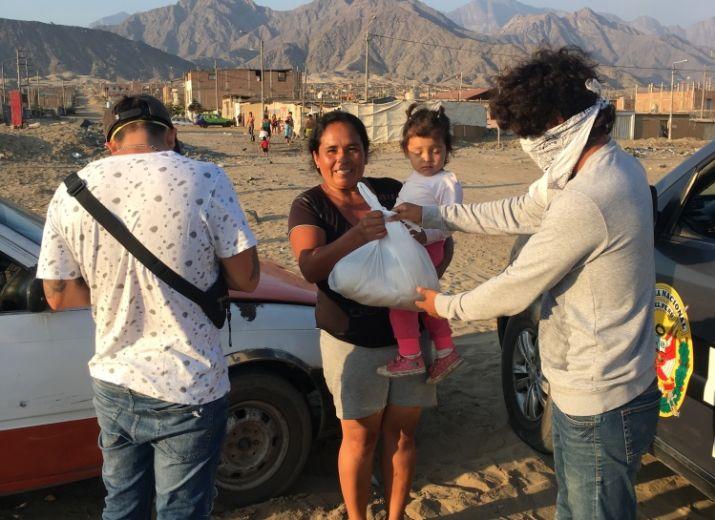 Ayuda alimentaria para familias Peruanas/ Food aid for Peruvian families