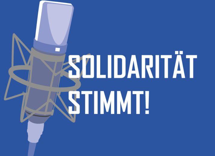 Solidarität stimmt!