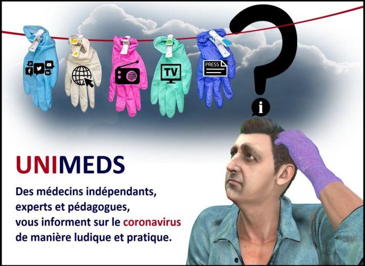 Soutenir la réalisation de 3 vidéos pédagogiques médicales sur le coronavirus pour les enfants et les adultes