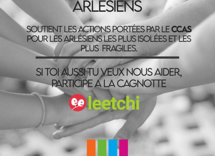 Les DJ's Arlésiens en soutien du CCAS d'Arles