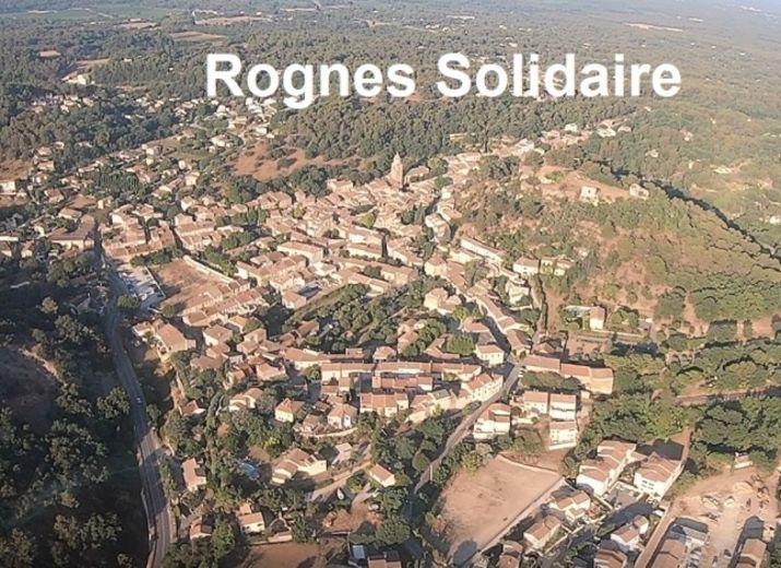 Rognes solidaire avec ses commerçants impactés par le confinement