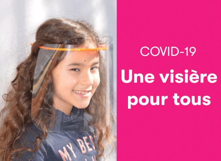 Covid-19: Une visière pour tous