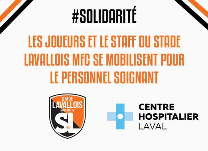 Cagnotte solidaire pour le Centre Hospitalier de Laval