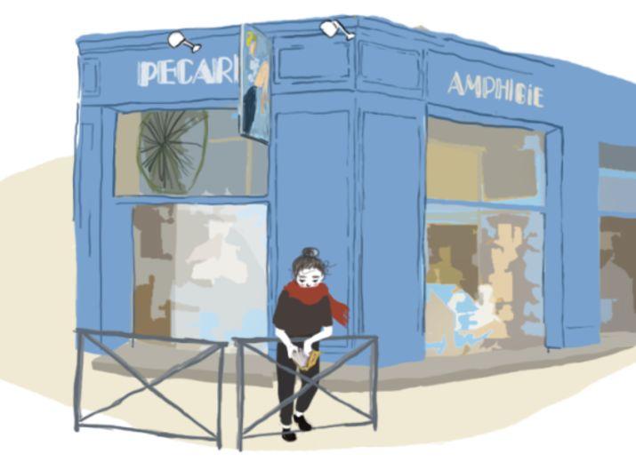Sauvez la libraie de la place St Anne Pecari Amphibie
