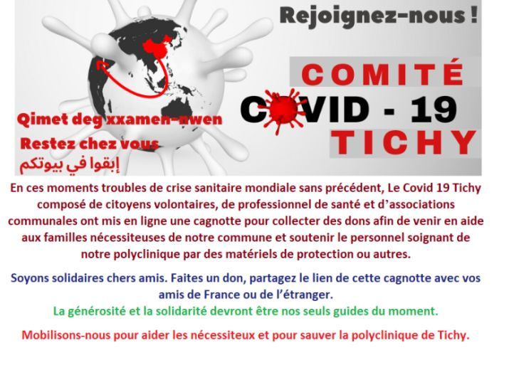 Tichy-Aide humanitaire COVID-19