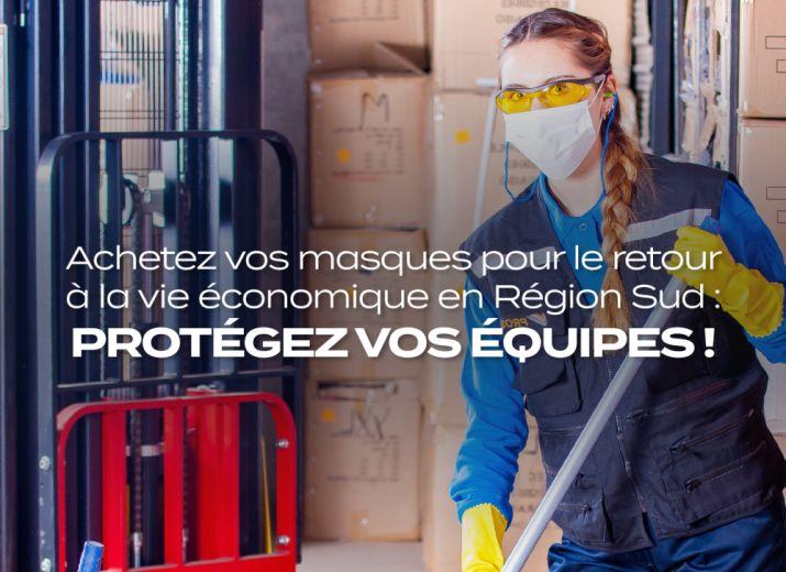 Vous avez besoin de masques pour travailler ! Commandez-les, nous vous garantissons la sécurité de votre commande et sa livraison par cette centrale d'achat innovante !