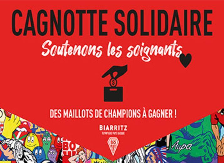 Cagnotte Solidaire des Joueurs Pro Biarrots - Covid19