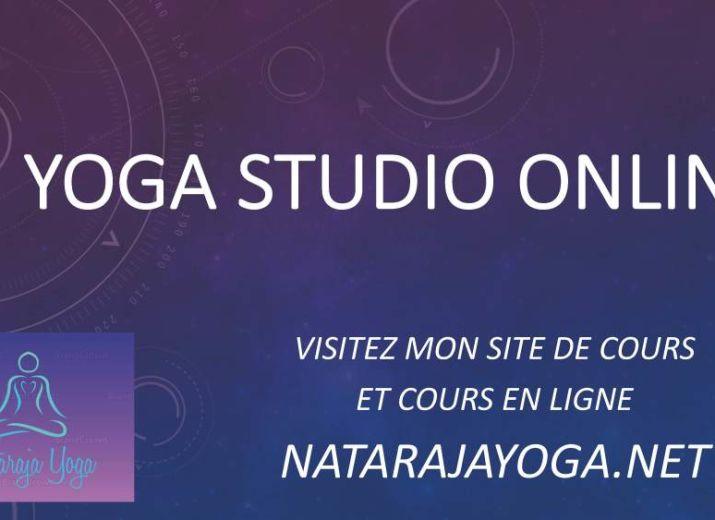 YOGA STUDIO ONLINE NATARAJA YOGA