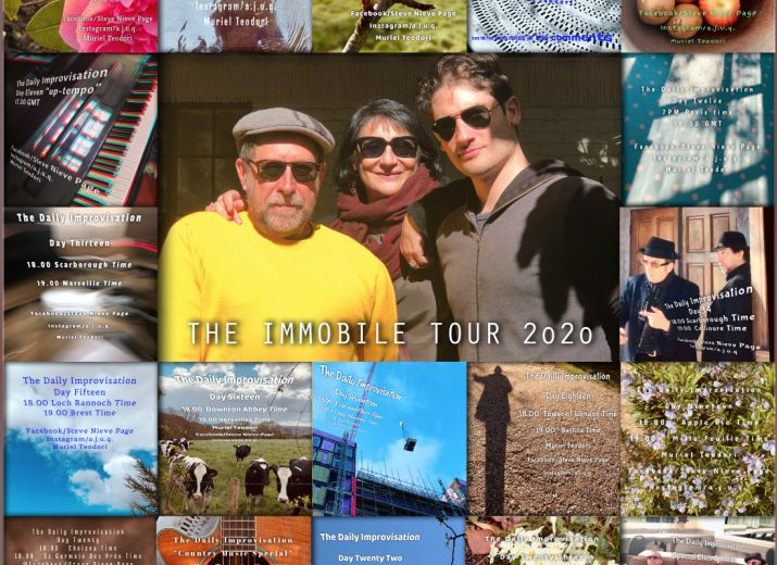 The Immobile Tour Poster