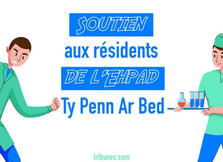 Covid-19 - Soutien aux résidents de l'Ehpad Ty Penn Ar Bed de Cléden Cap-Sizun