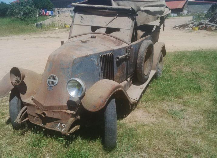 Sauver une Renault NN de 1924