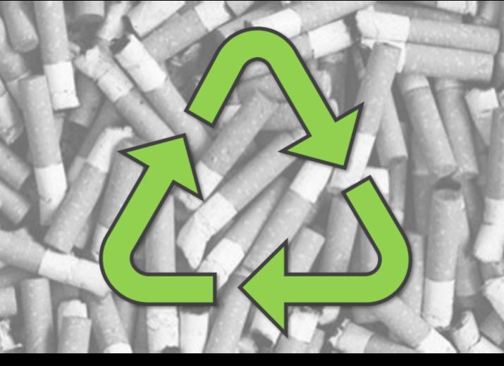 Recyclons les mégots à Mougins le Haut !